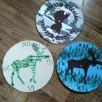 3 different examples of Moose clocks