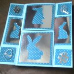 Another fold view of the Easter Infinity Card