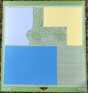Video Cover graphic of cutting muliple colors on one mat