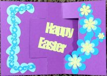 Make This Easter Flip Card