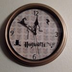 Completed Harry Potter Clock