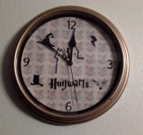 Make Your Own Harry Potter Clock