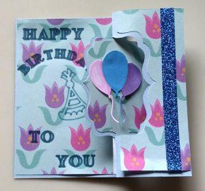 Birthday Flip Card