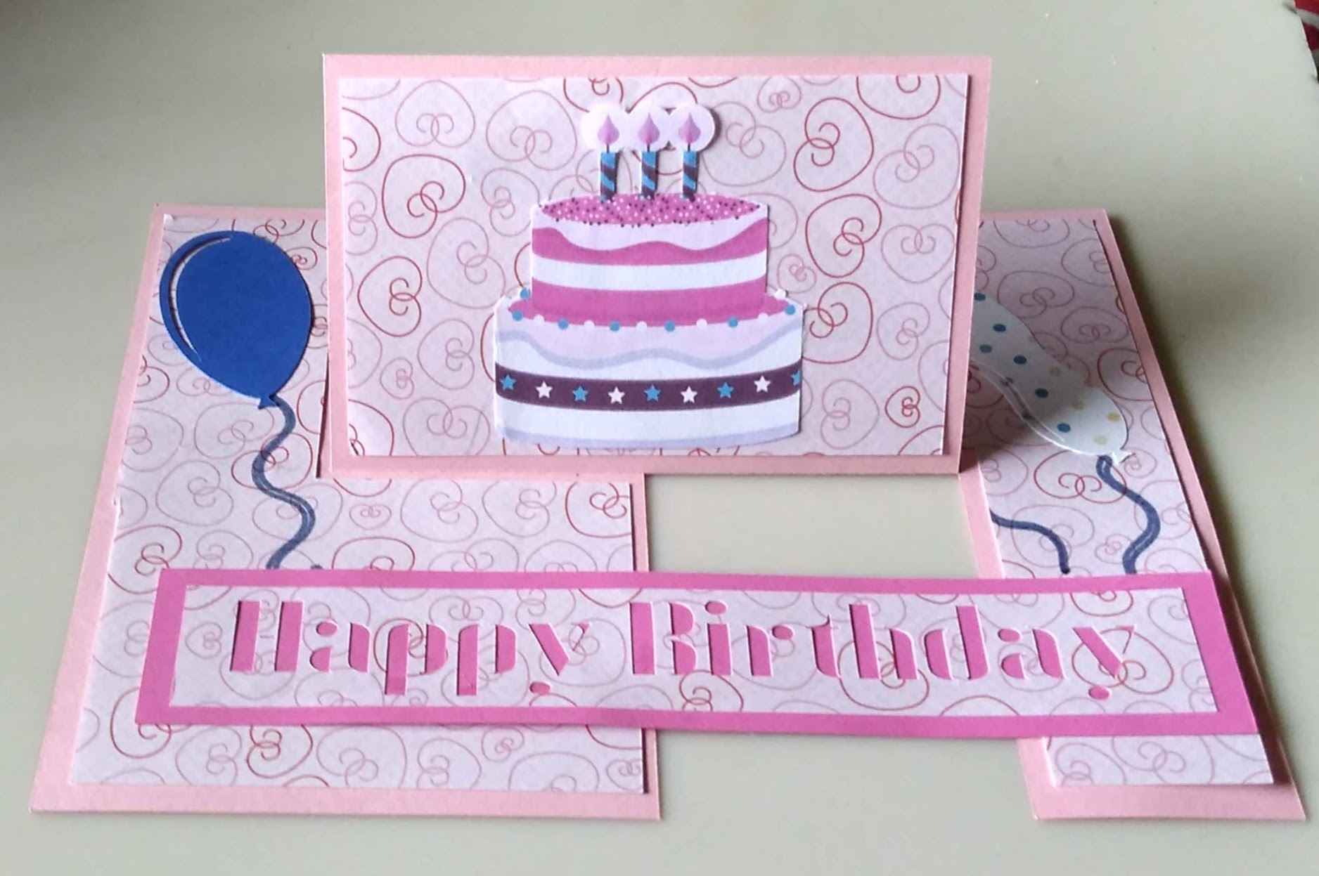 The Impossible Fold Birthday Card