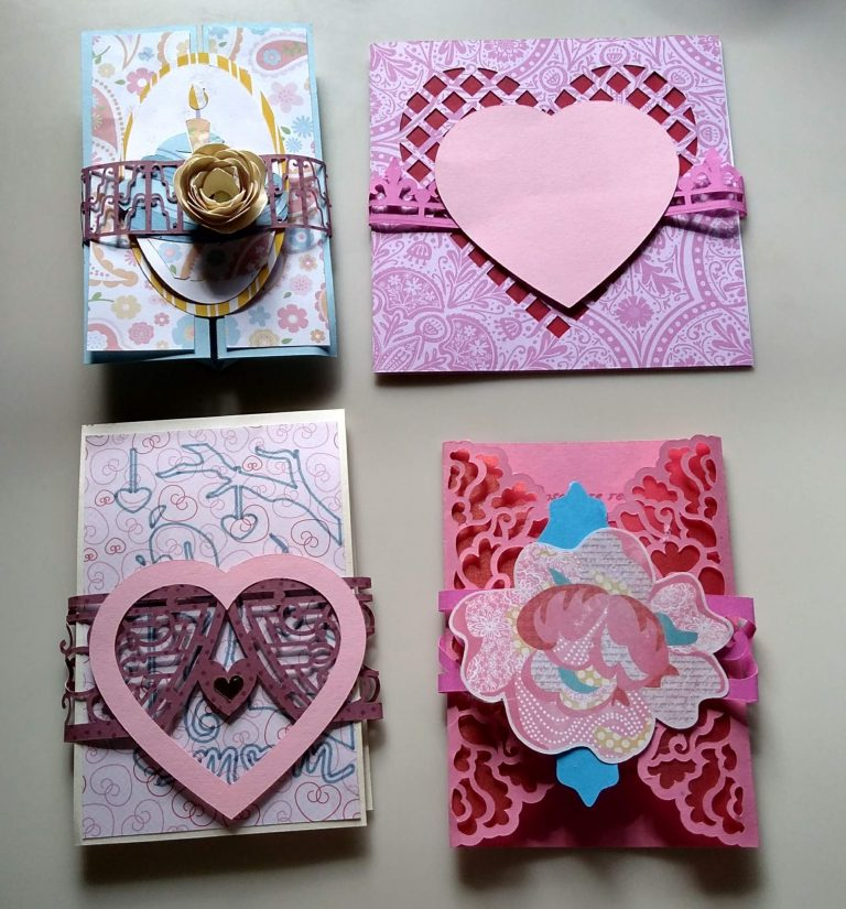 Examples of Decorated Card Bands