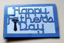 Humerous and Simple Father's Day Card