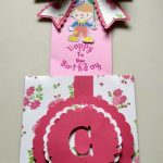 Flowered Present Slider Birthday Card