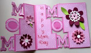 Mom Day Card Open