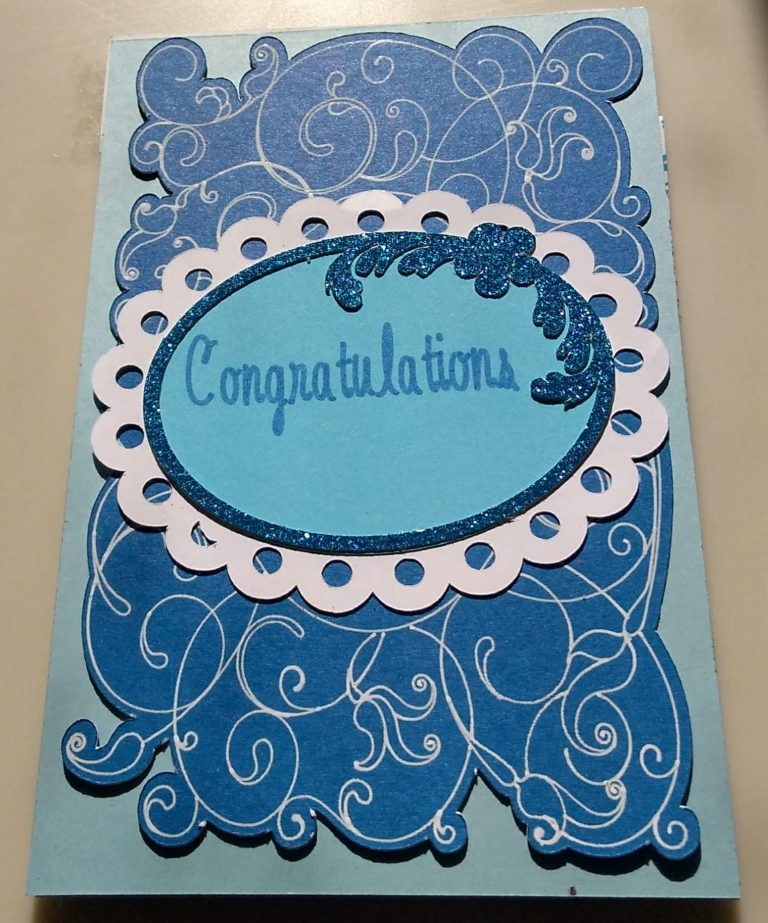 Front of Wedding Card