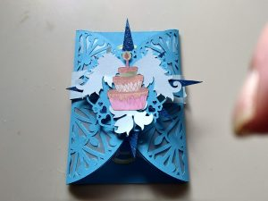 Gatefold Birthday Card with Card Band