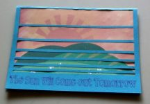 The Sun Will Come Out Encouragement Card