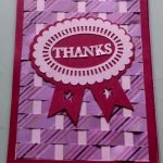 Weave Thank You Card