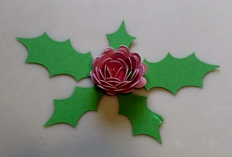 Pink Rolled Flower