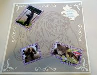 Little Bear Scrapbook Page