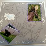 Little Bear Scrapbook Page 2