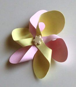 Paper Pinwheel Flower