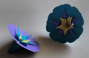Morning Glory paper Flower
