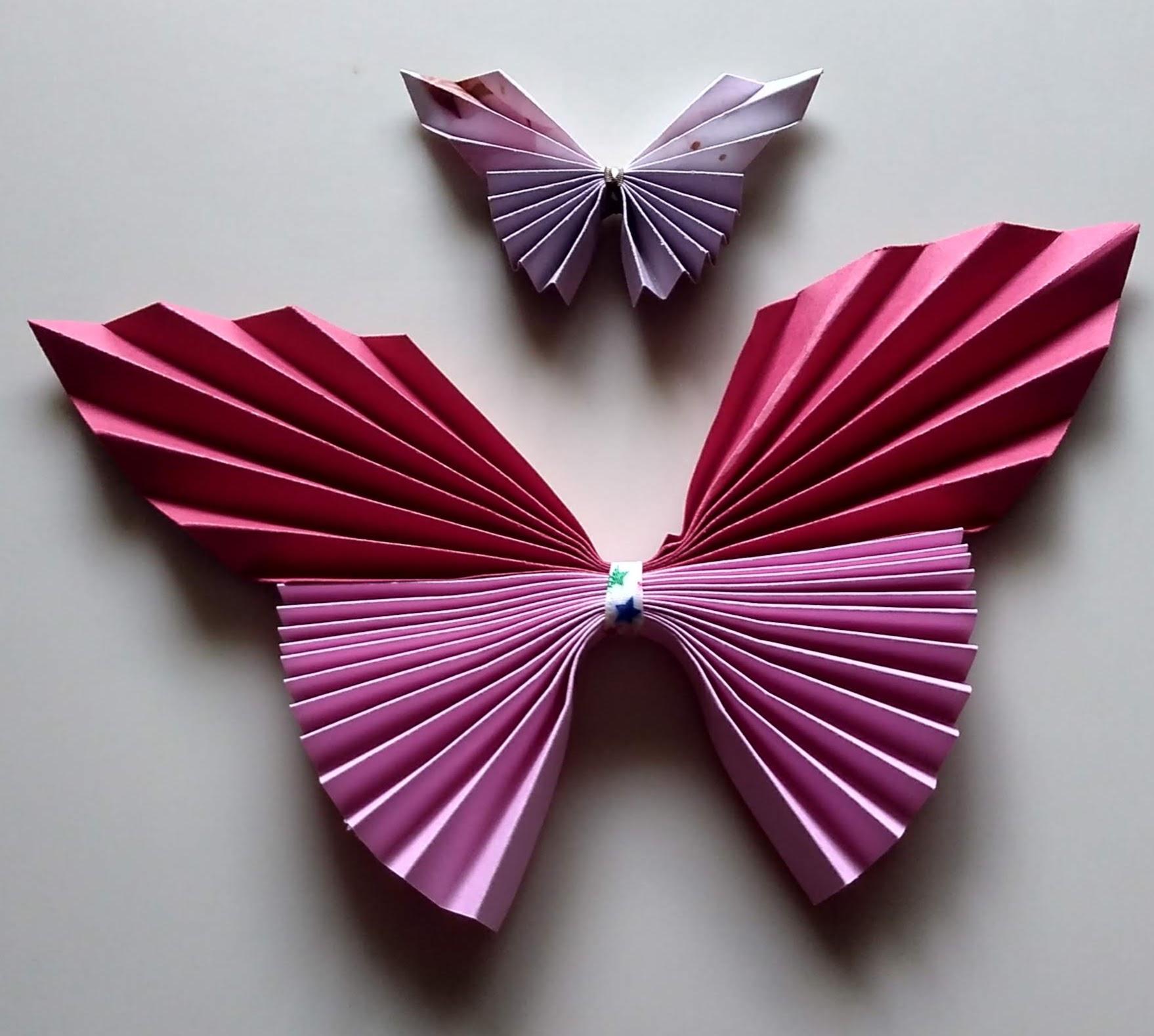 Accordion Fold Butterflies to Make