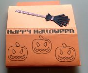 Halloween Sliding Pop Up Card