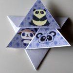 Folded Star card