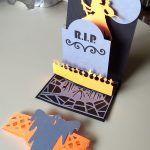 Halloween Pulley Card open