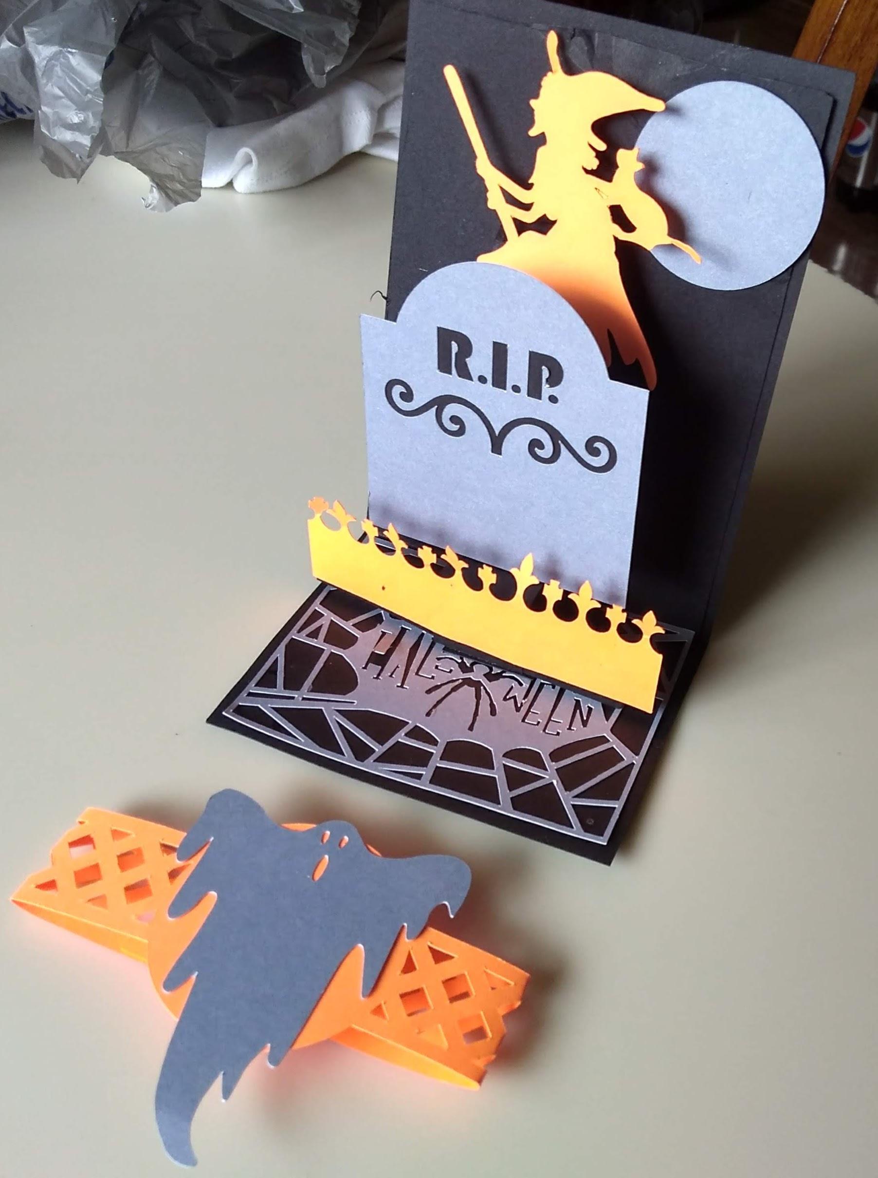 Halloween Pulley Card - Amazing