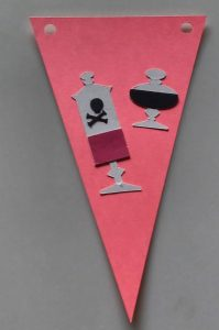 Potions Halloween Pennant Banner