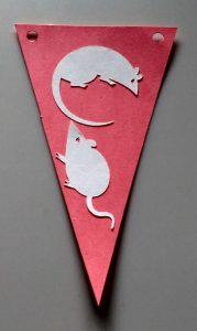 Rats Halloween Banner