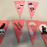 6 Halloween Pennant Banner Sections