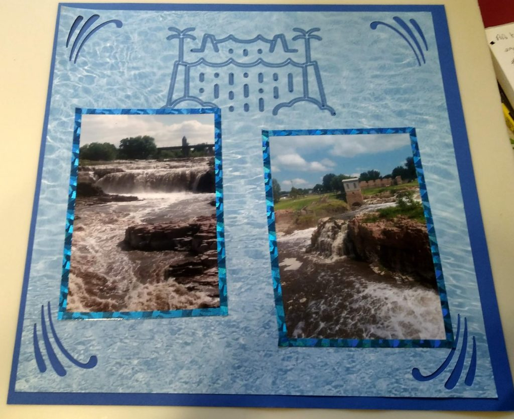 Sioux Falls Waterfall page