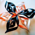 Alternating colors all glued together