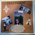 Page 2 Crazy Horse Memoral Scrapbook Page