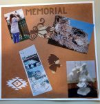 Crazy Horse Memorial Scrapbook Page