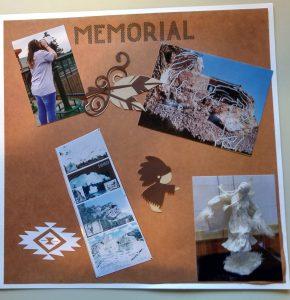 Page 1 Crazy Horse Memoral Scrapbook Page