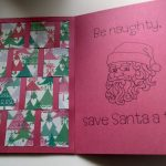 Inside of Christmas Weave Card
