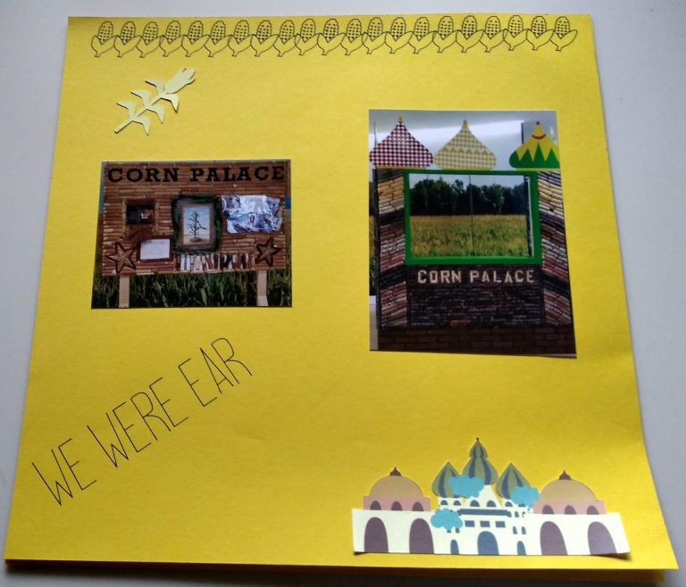 Page 2 from the Corn Palace