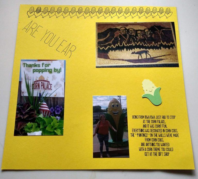 Corn Palace Scrapbook Page