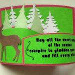 Bendy Christmas Card