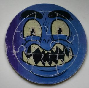 Blue Halloween Puzzles