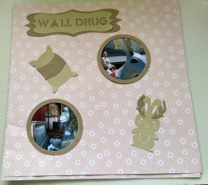 Wall Drug Scrapbook page