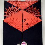 Samhain Double Gatefold card closed