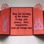 Open Samhain card
