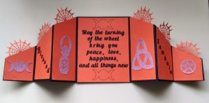Samhain Double Gatefold Card