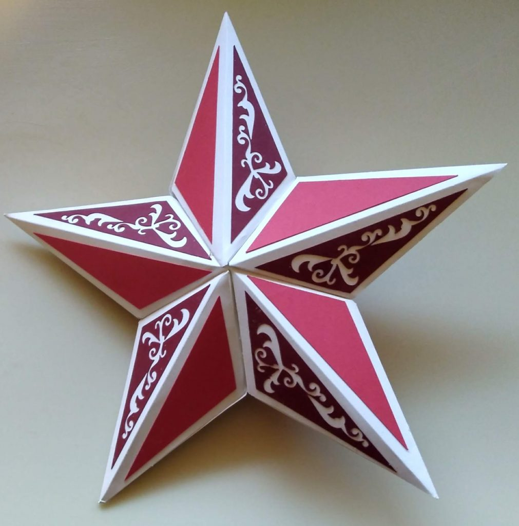Fancy Star Christmas Decoration