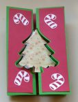 Double Flip Christmas Tree Card