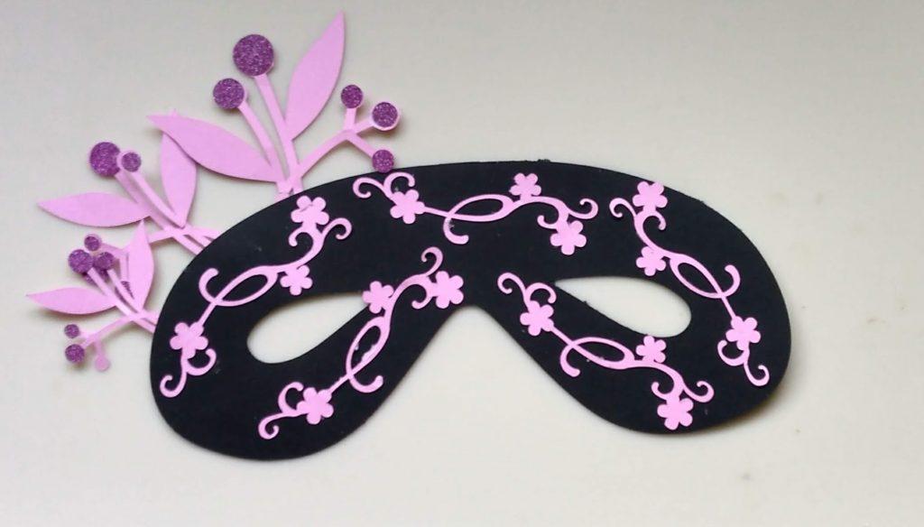 Oriental Style Halloween Mask