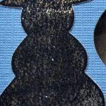 Minc foiled Snowman
