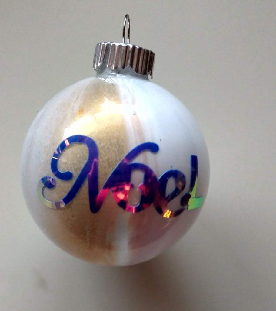Noel Paint Ornament