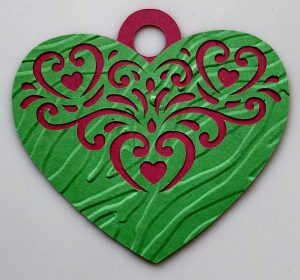 Simple Paper Ornament Heart