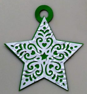 Star Simple Paper Ornament